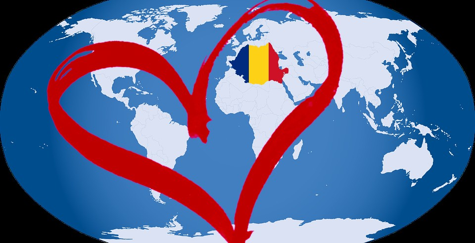 The WORLD + Romania = LOVE!