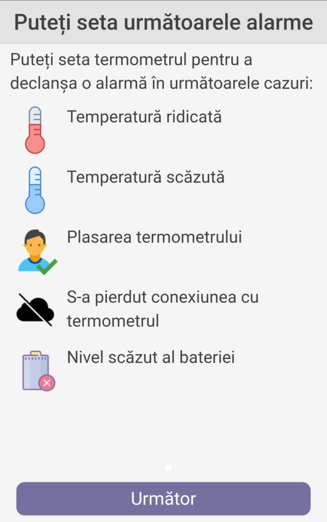 Termometrul MyKi Care 4