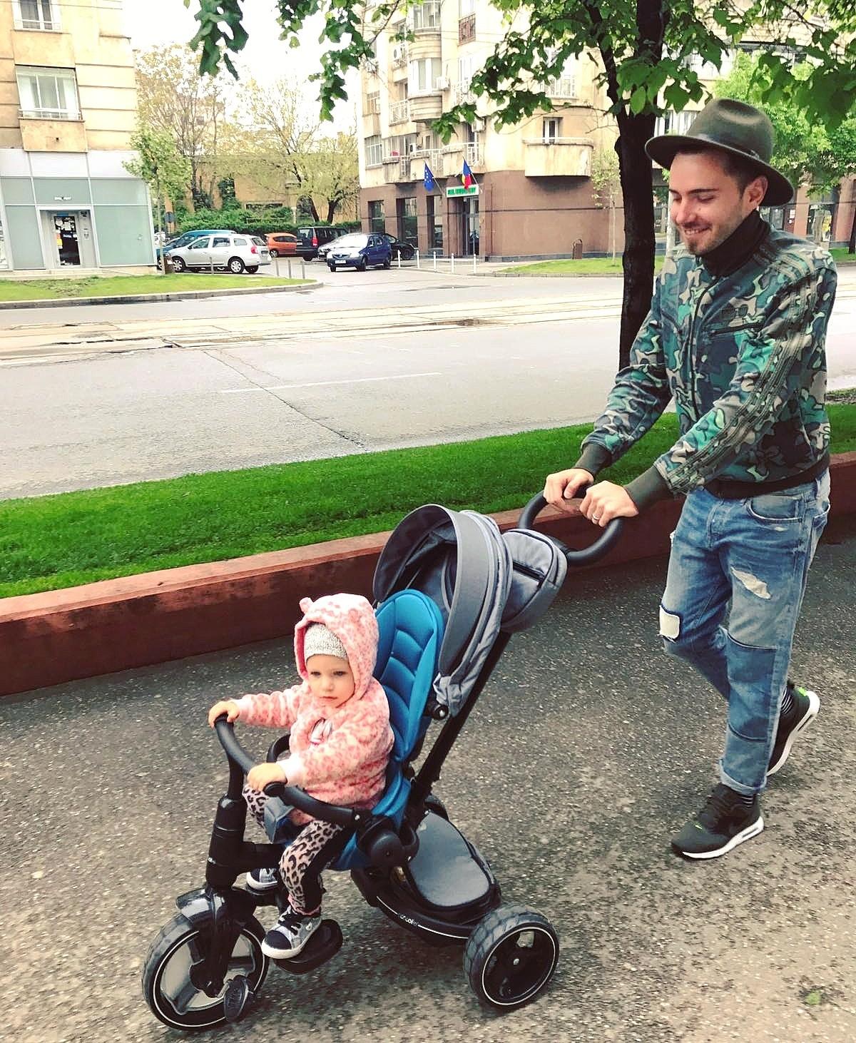 DaddyCool tricicletă Coccolle Alto
