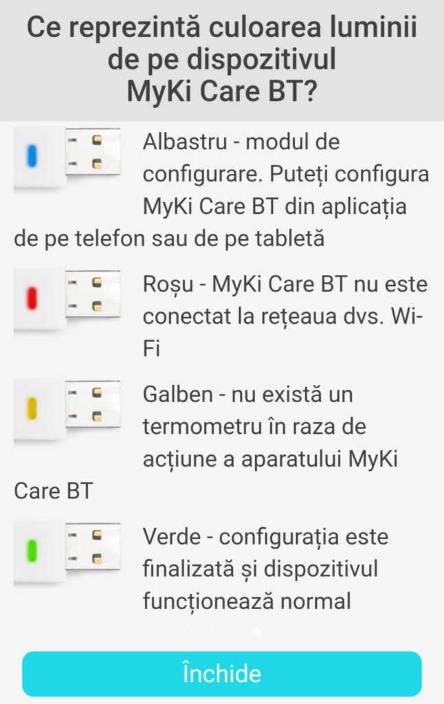 Termometrul MyKi Care 5
