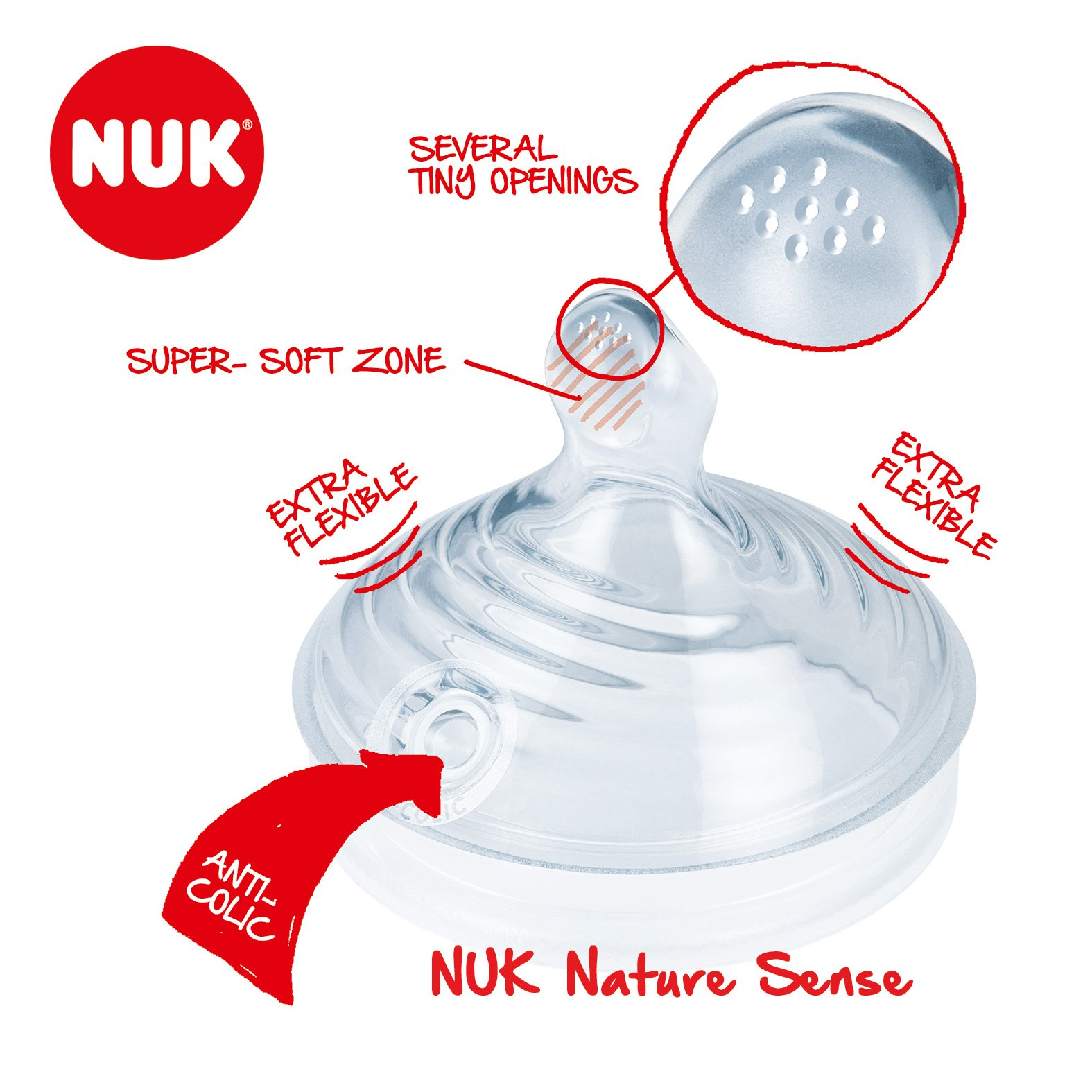 NUK Nature Sense 5