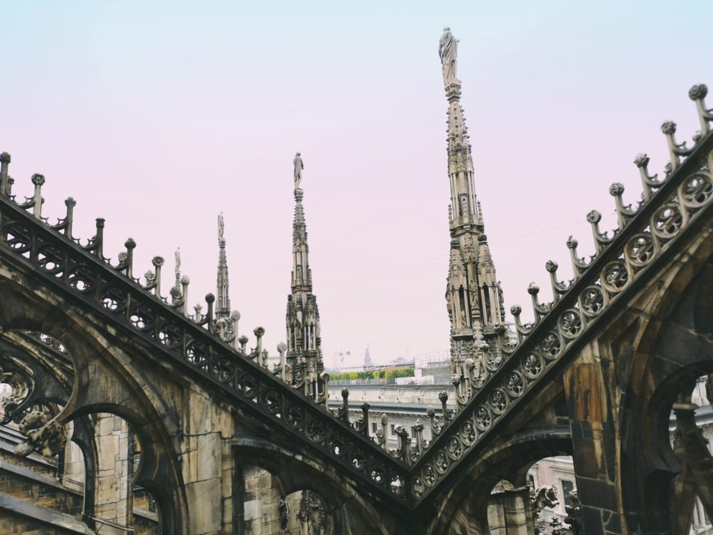 DaddyCool Duomo Di Milano rooftop
