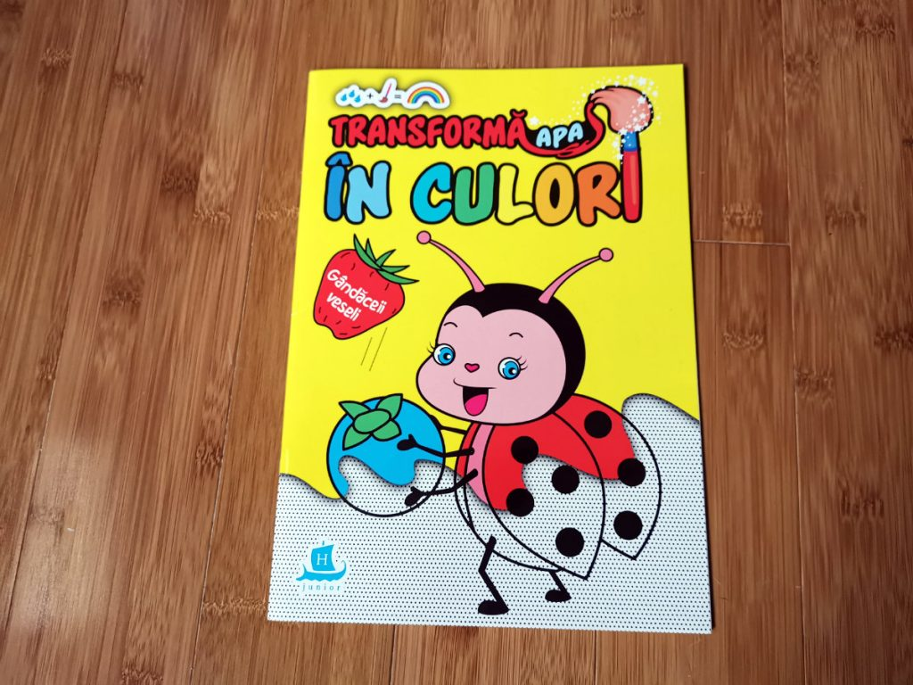 DaddyCool carti de pictat Humanitas Junior 2