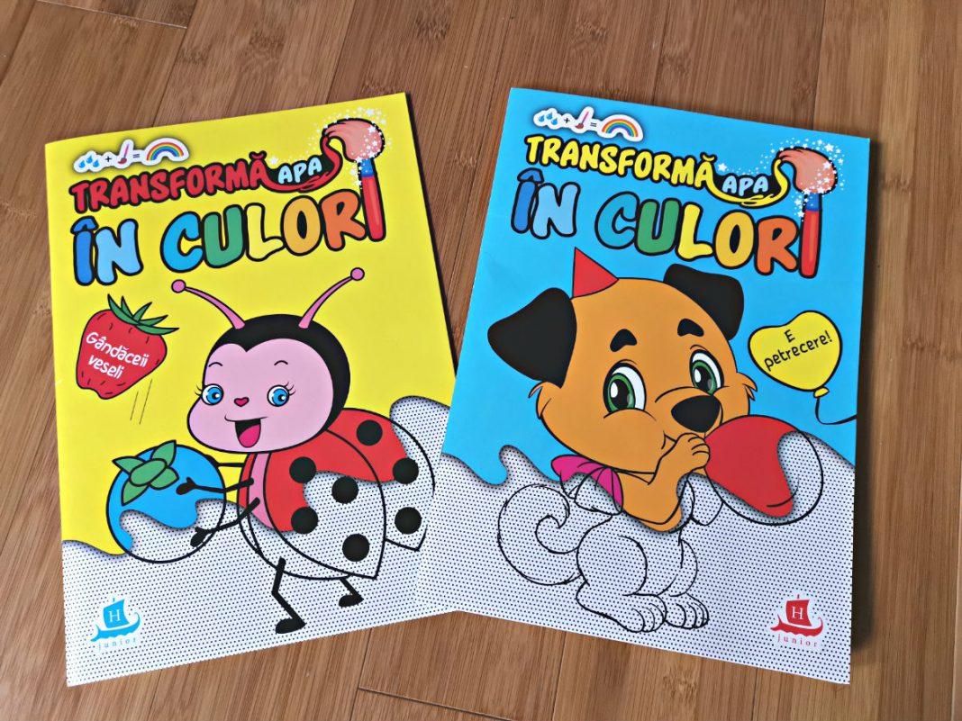 DaddyCool carti de pictat Humanitas Junior cover